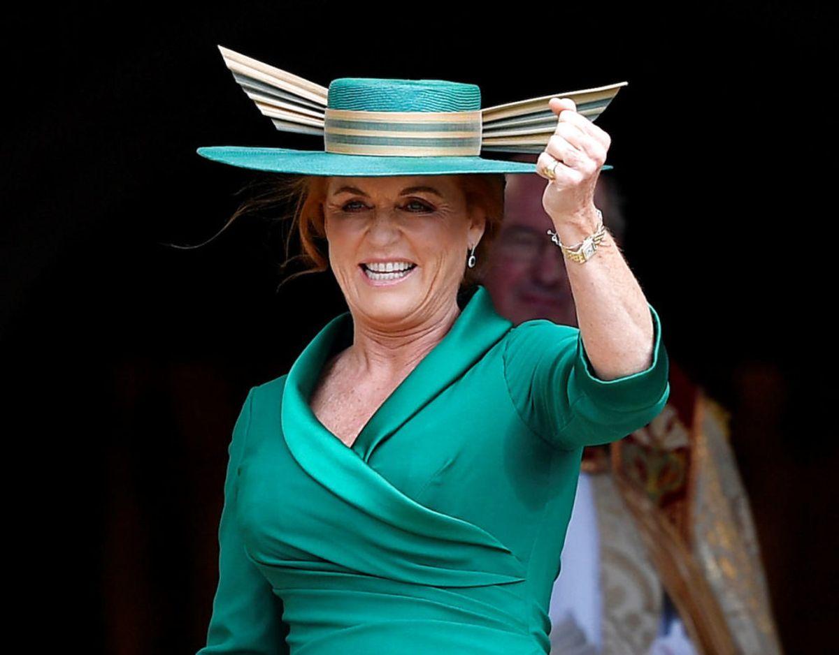 Sarah Ferguson hertuginden af York. Foto: Scanpix/REUTERS/Toby Melville