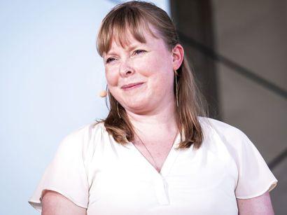 Kultur- og kirkeminister Joy Mogensen er forhindret i at deltage i OL, fordi hun er gravid.