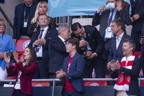 Kronprinseparret til bryllup i Spanien