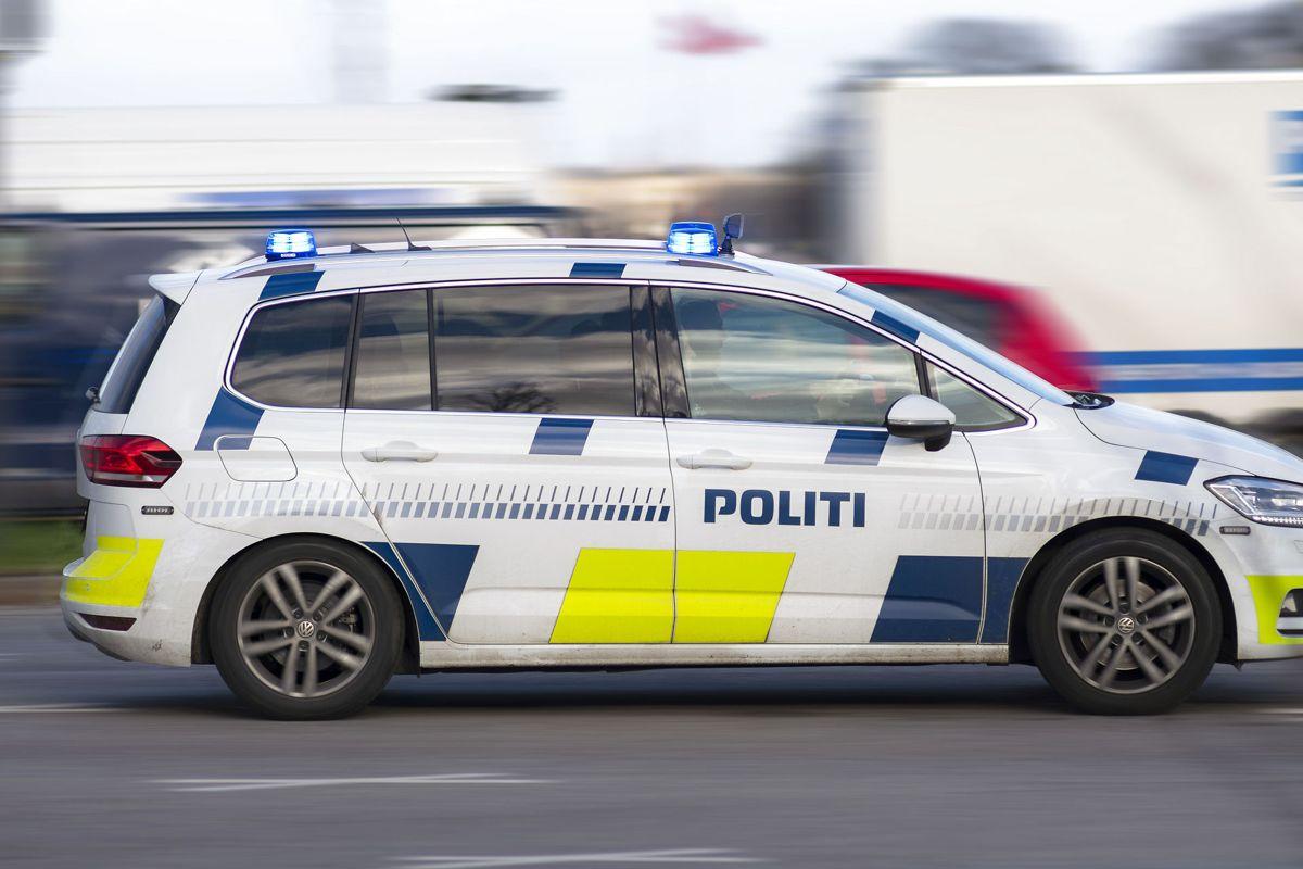 Politimanden, der blev kørt ned i Aarhus sidste måned, er stadig ikke ved bevidsthed, skriver politiet. Foto: Christian Lindgren
