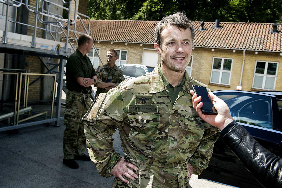 Kronprins Frederik til jubilæumsarrangement for Frømandskorpset for fire år siden.
