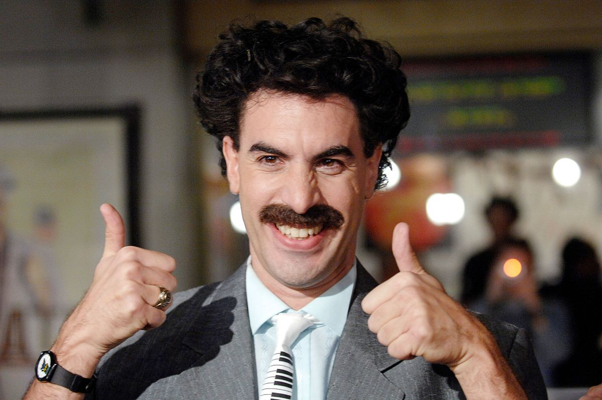 "Hele verden lærte Sacha Baron Cohen at kende som Borat i filmen ""Borat: Cultural Learnings of America for Make Benefit the Glorious Nation of Kazakhstan"". Foto: REUTERS/Phil McCarten/File Photo"