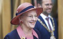 Margrethe ankommet efter stort besvær