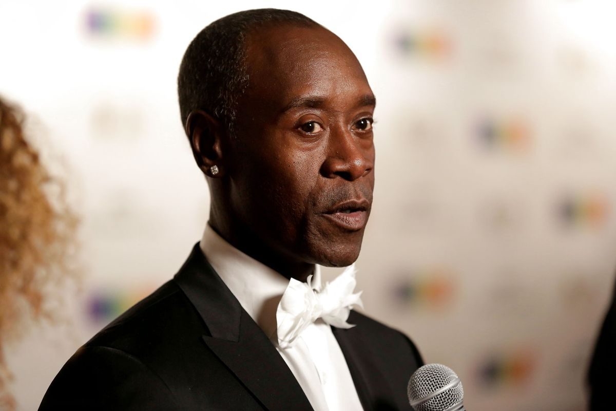 Don Cheadle er blevet nomineret for sine 98 sekunders optræden i The Falcon and the Winter Soldier. Foto: REUTERS/Joshua Roberts/File Photo