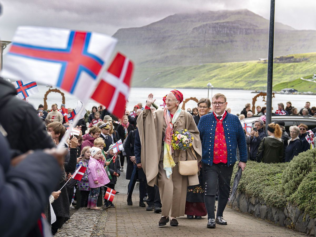 Her ankommer til Miðstaðarlundin.