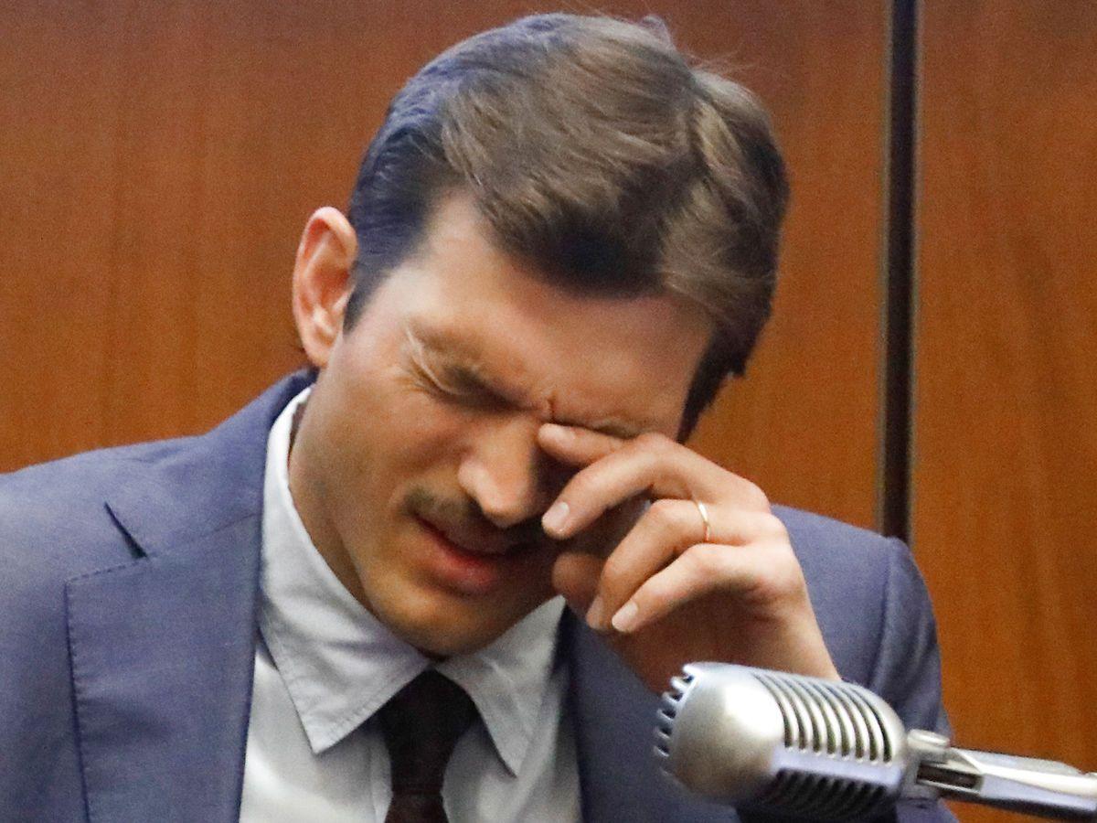 Ashton Kutcher under retssagen.