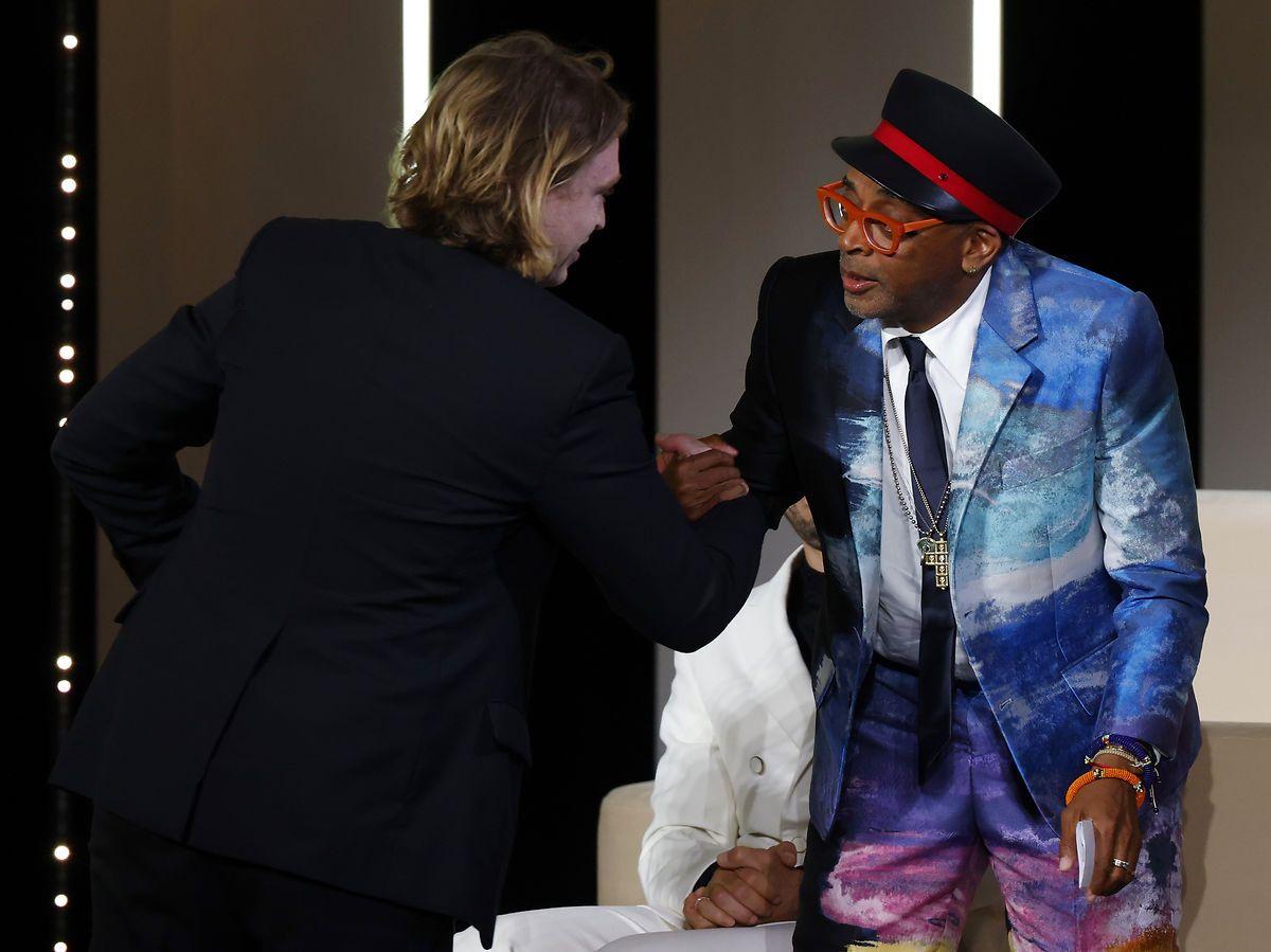 Spike Lee afslører palmemodtager ved fejl i Cannes