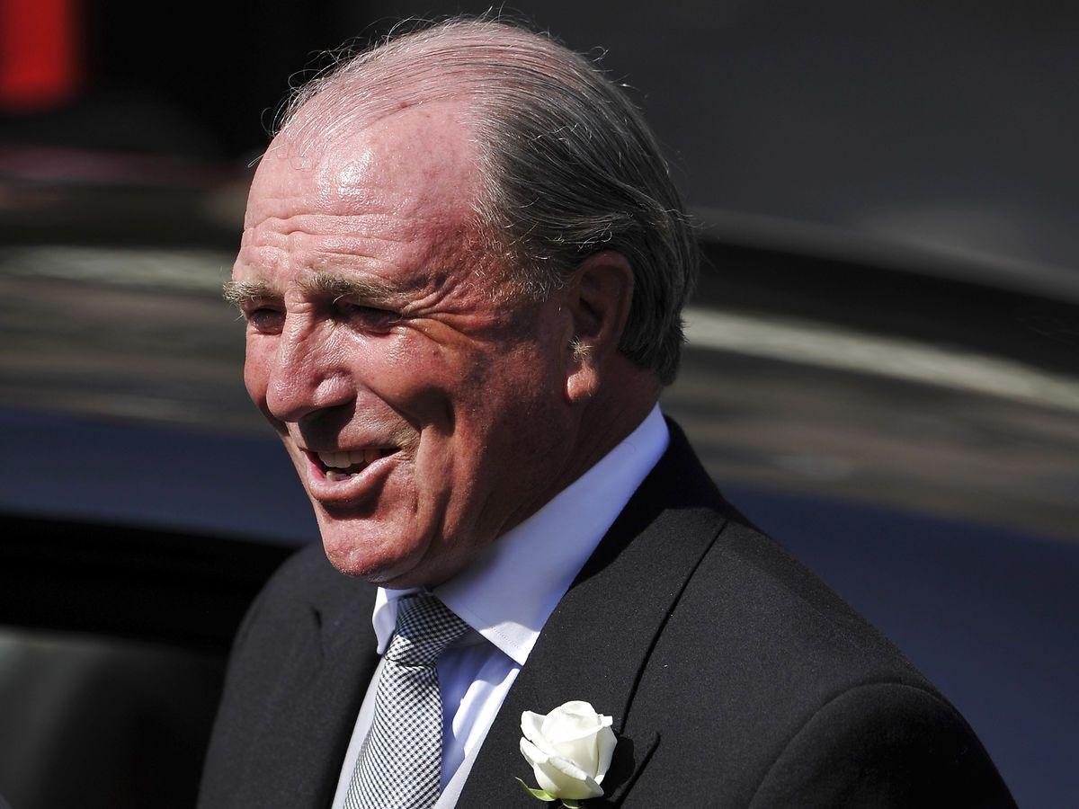 Prinsesse Annes første mand Mark Phillips var en del af det britiske hold i 1972 i München. Han vandt senere en sølvmedalje til OL i 1988 i Seoul. Foto: REUTERS/Dylan Martinez/Ritzau Scanpix