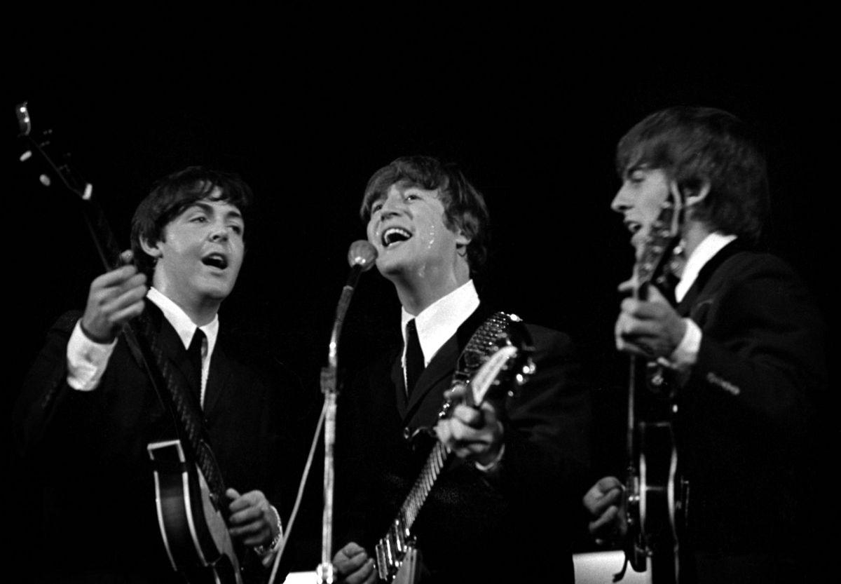 Nummer 8: The Beatles tjente hele 81,3 millioner kroner. Det skyldes, at de tjener meget i royalties og at de solgte 671.000 - langt hovedparten den dyrere vinyl-udgave. Foto: Allan Moe / Ritzau Scanpix