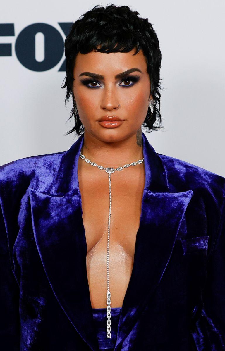Sanger og skuespiller Demi Lovato har haft gang i den foran kameraerne, fortæller hun på Twitter. Foto: REUTERS/Mario Anzuoni