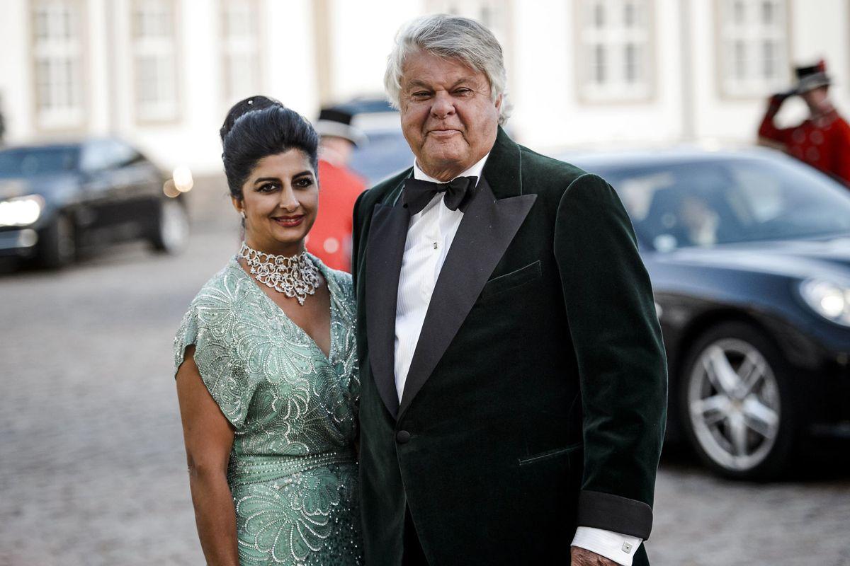 Christian Kjær og Susan Astani. Nu er hustruen indlagt med en alvorlig tarminfektion. Hun ligger på en isolationsstue.