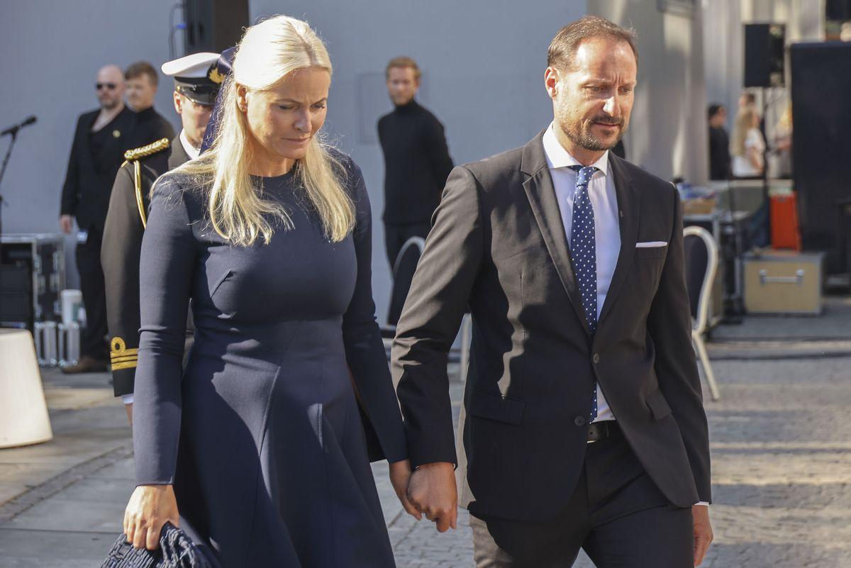 Senere på dagen vil kronprins Haakon holde tale på Utøya. Foto: Geir Olsen / NTB
