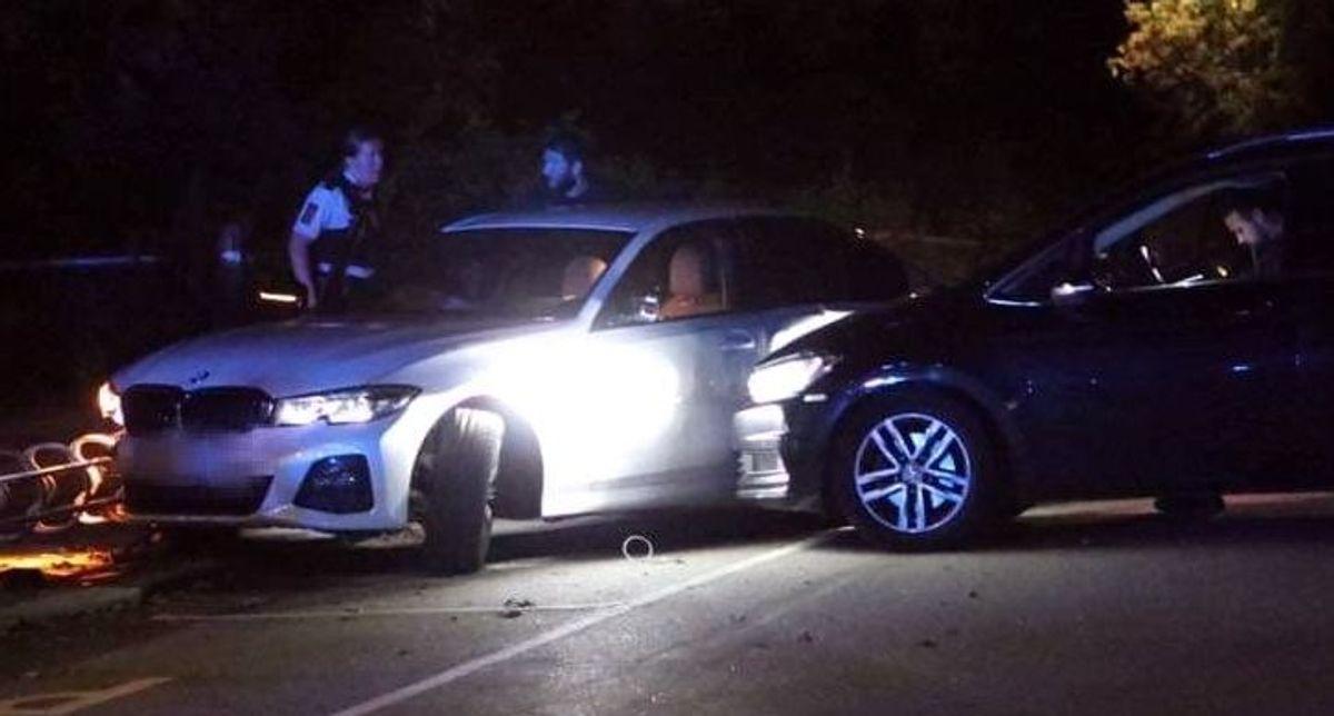 Jagtede 17-årig vanvidsbilist i hvid BMW