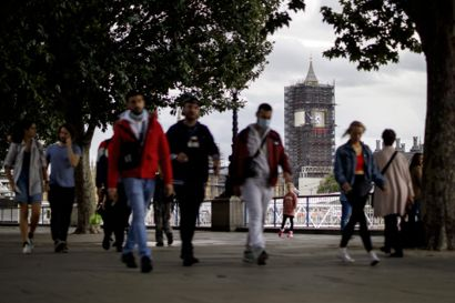 Færdigvaccinerede turister kan fra EU og USA kan fra mandag komme på ferie i London igen. Udenrigsministeriet fraråder dog stadig alle rejser til England, og der er fortsat isolations- og testkrav ved hjemrejse fra derfra. (Arkivfoto)