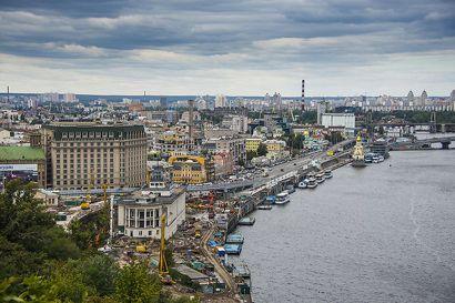 Kiev er hovedstaden i Ukraine.