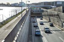 Træt biltyv går i stå i Limfjordstunnelen