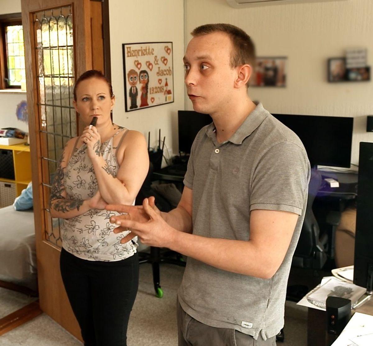 29-årige Jacob Sørensen er edderspændt rasende i premiereafsnittet af Luksusfælden.