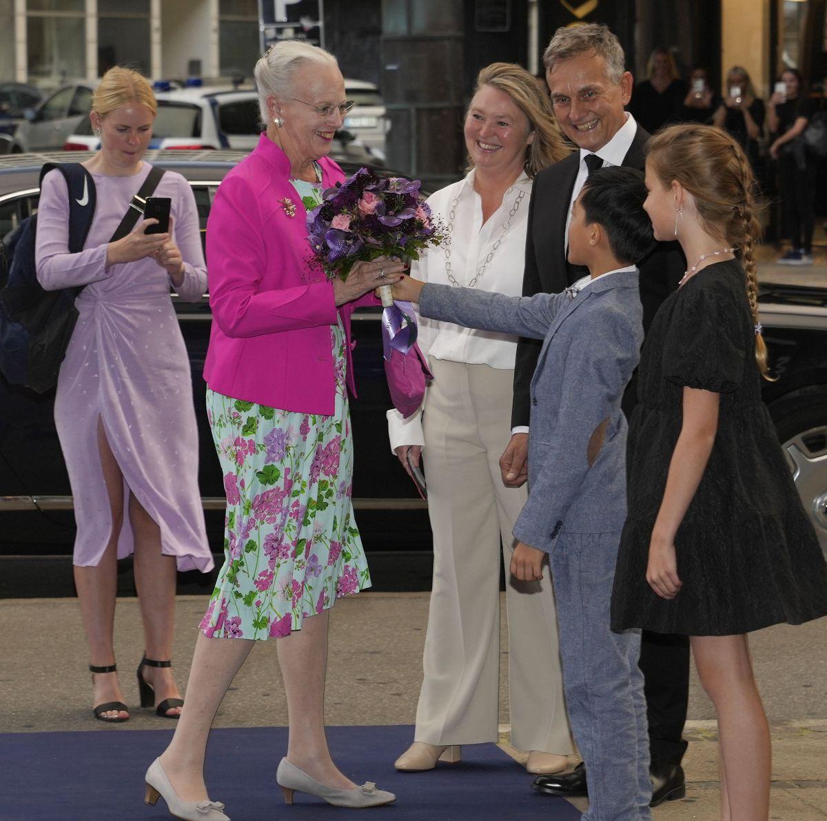 Dronning Margrethe deltager i gallapremiere på filmen Margrete den første i Imperial Bio i København, onsdag den 8. september 2021.