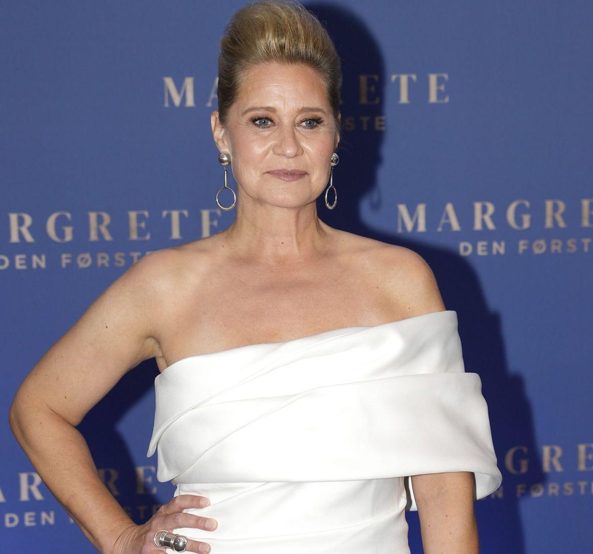 Trine Dyrholm. Dronning Margrethe deltager i gallapremiere på filmen Margrete den første i Imperial Bio i København, onsdag den 8. september 2021.