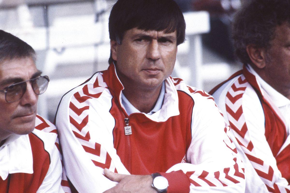Sepp Piontek førte Danmark til EM i 1984, hvor det blev til nederlag i semifinalen efter straffesparkskonkurrence mod Spanien.