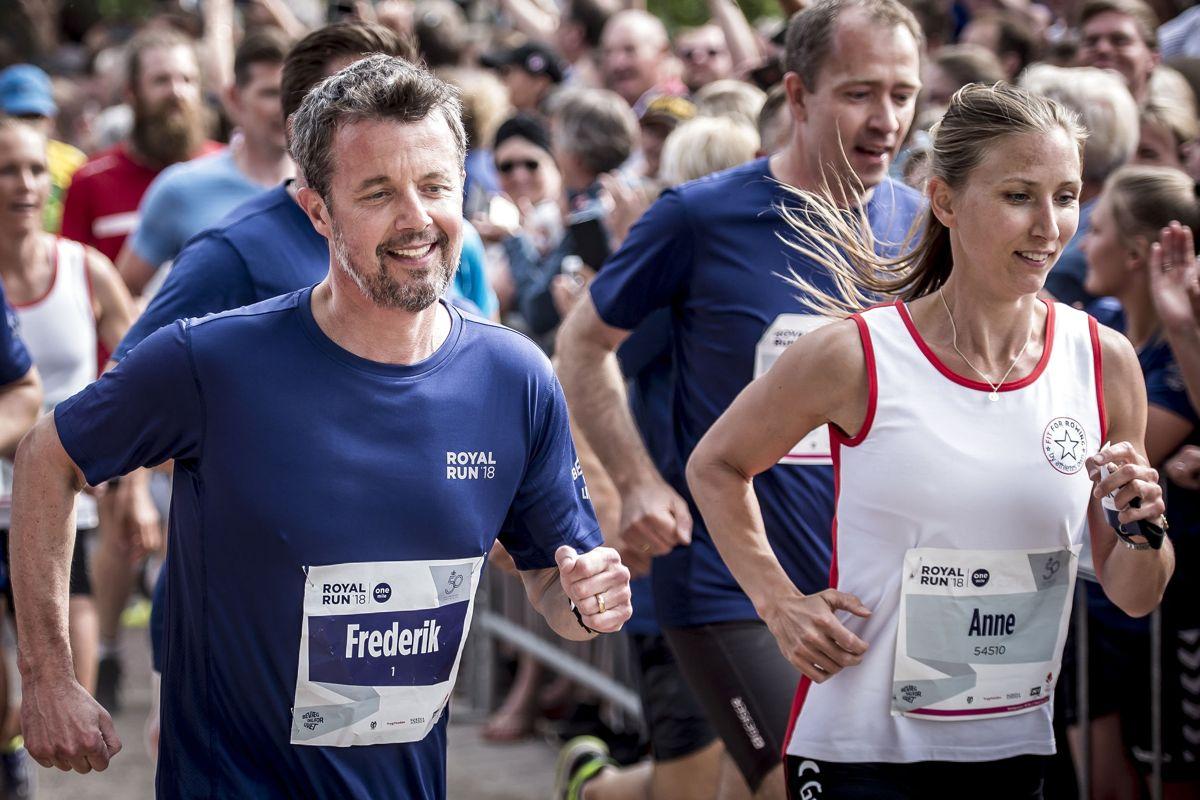 Ligesom tidligere år deltager kronprinsen også i år i løbet Royal Run. (Arkivfoto)