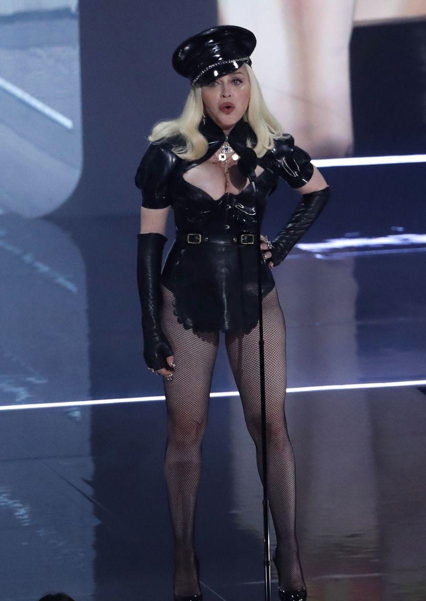 Madonna var der selvfølgelig også.