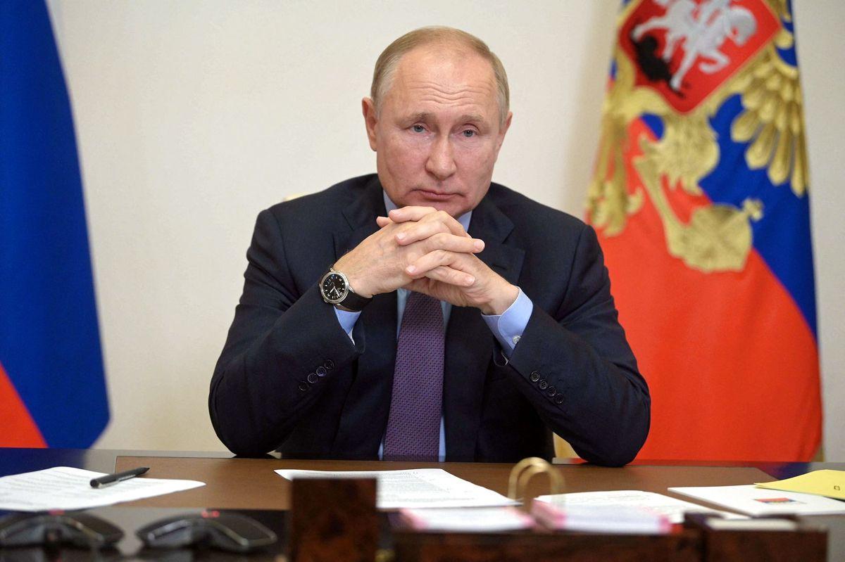 Den russiske præsident har lukket sig inde