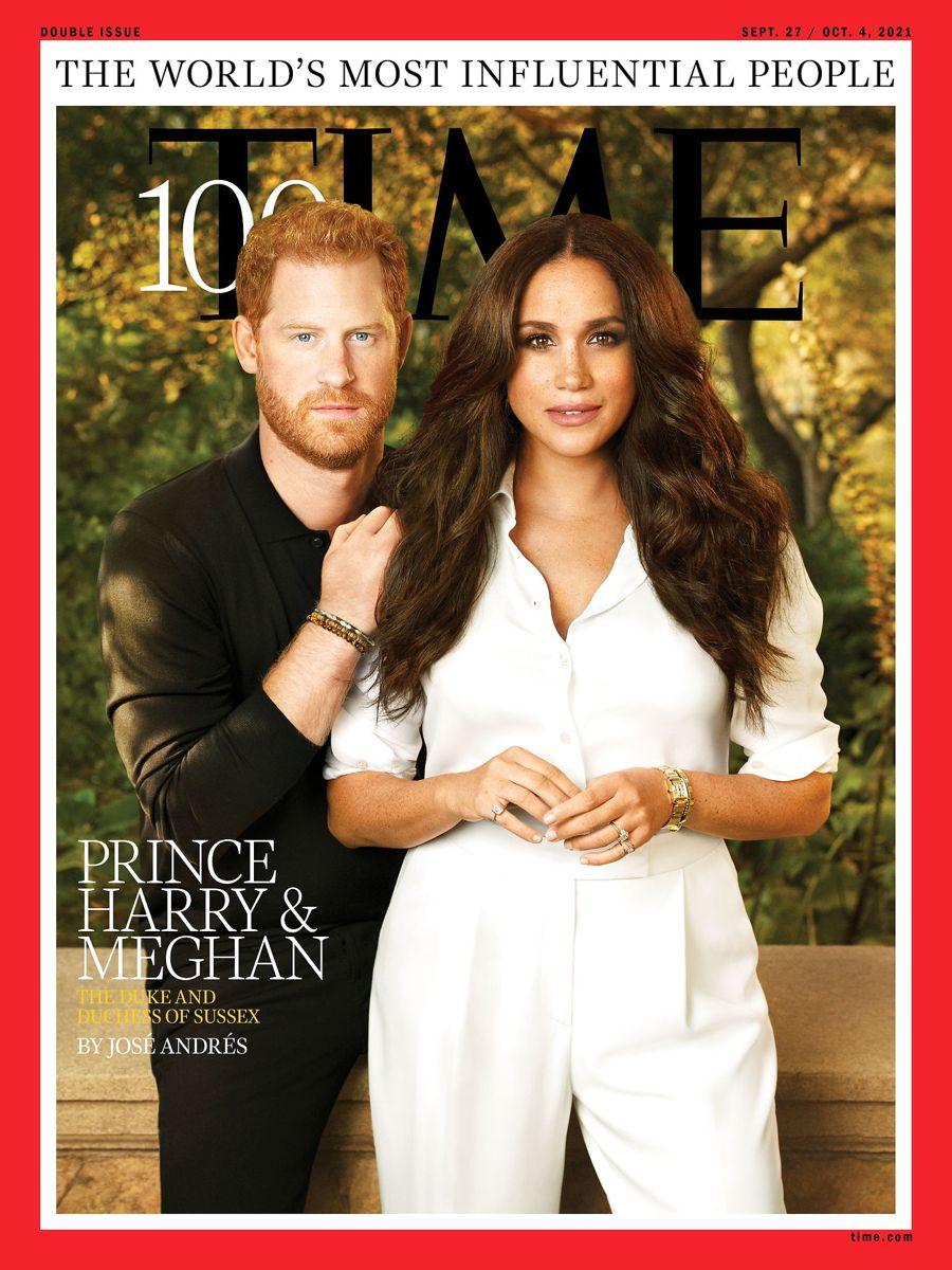 Forsiden af den næste udgave af Time Magazine.