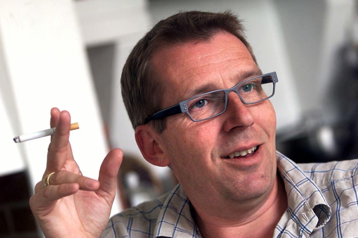 Søren Østergaard blev overrasket over sin borddame