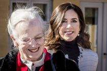Margrethe og Mary på særlig tur