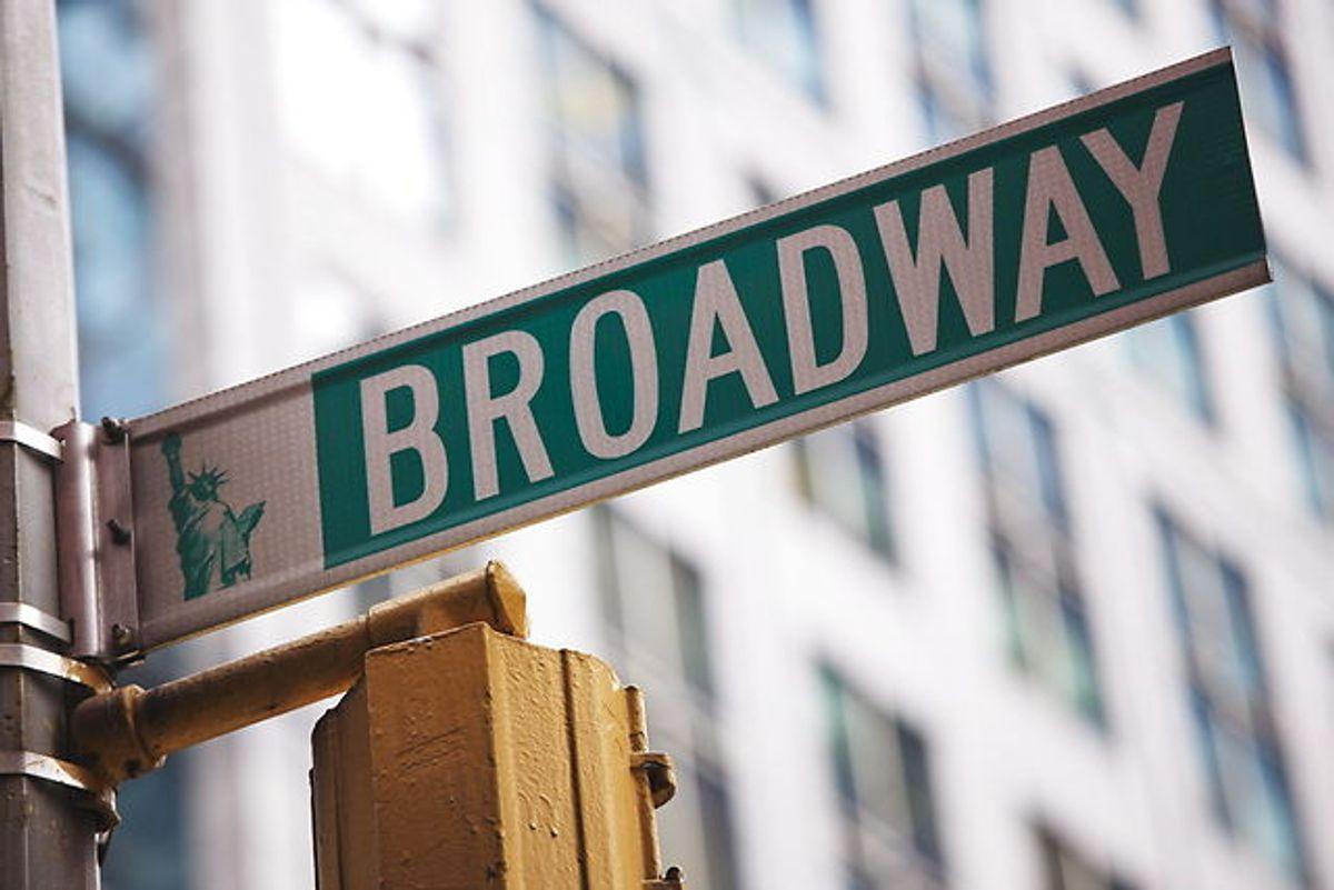 Musicalstjernen Peter Palmer optrådte på Broadway.
