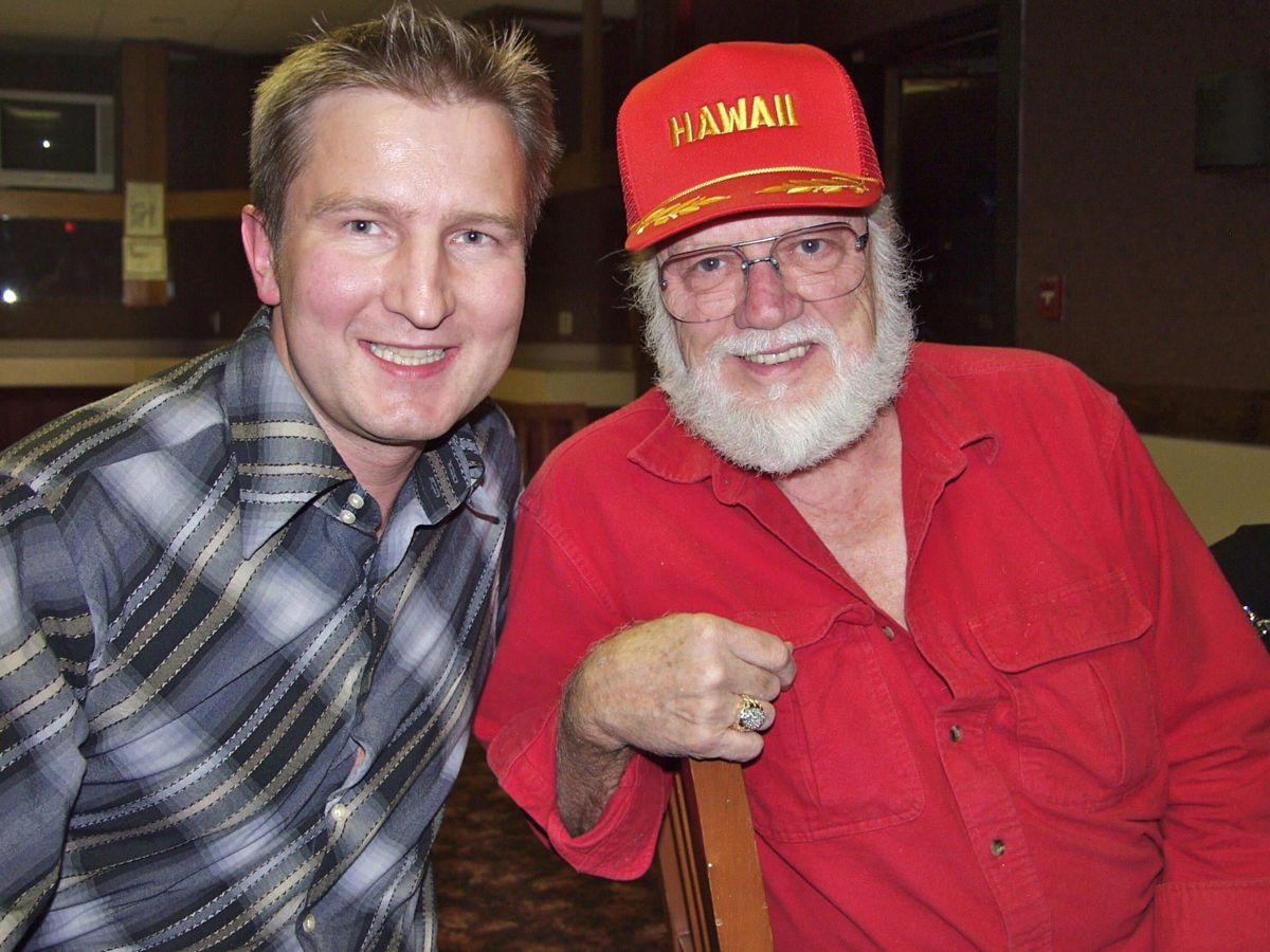 Stig Ulrichsen og Bob Moore