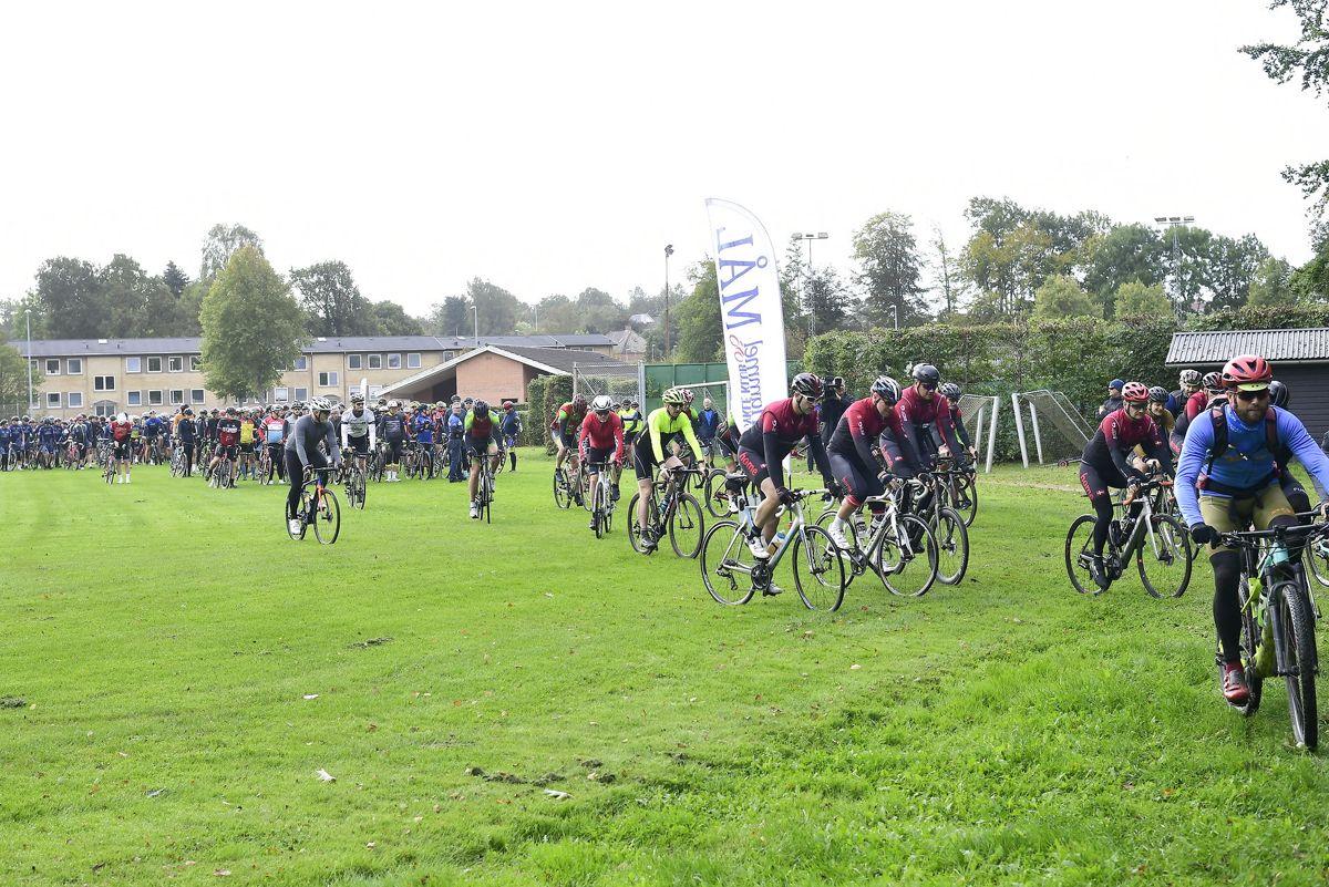 Cykelløbet vil foregå på vejene omkring Hammel