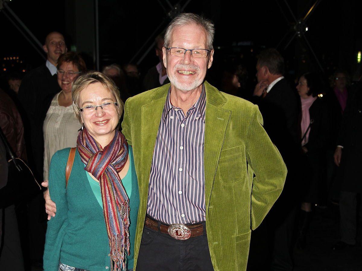 Lars Stryg er død. Her er han sammen med sin kone Jette Stryg
