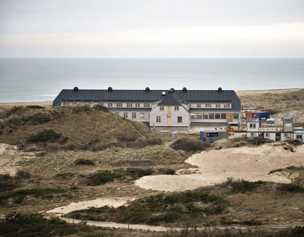 Det genopførte Svinkløv Badehotel åbnede i 2019.