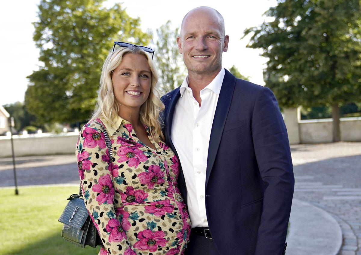 Højgravide Josefine Høgh og Lasse Sjørslev.