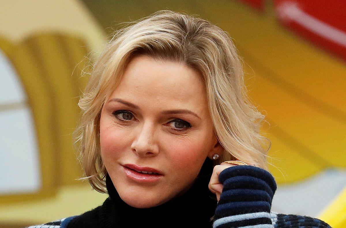 Fyrstinde Charlene af Monaco.