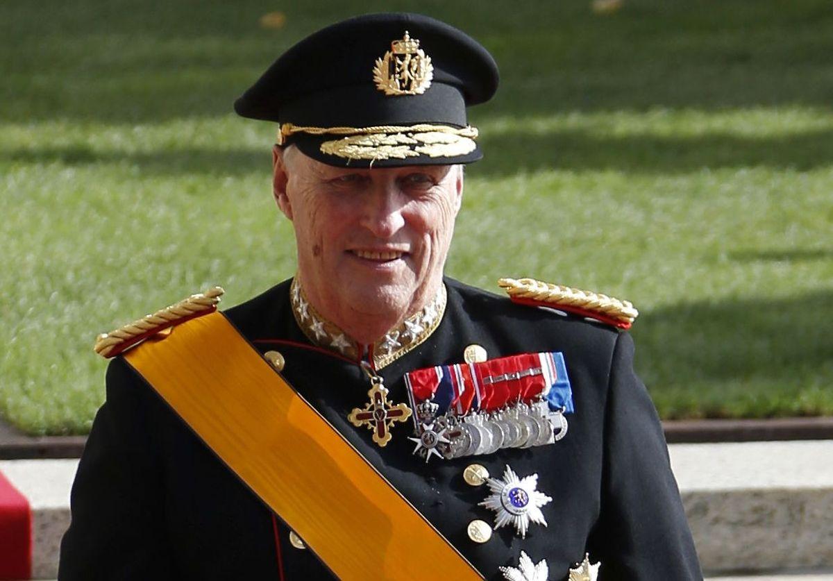 Kong Harald af Norge.