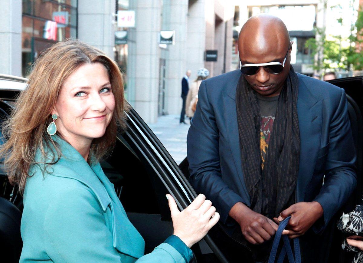 Prinsesse Märtha Louise ses her sammen med Durek Verrett i Oslo i maj 2019.