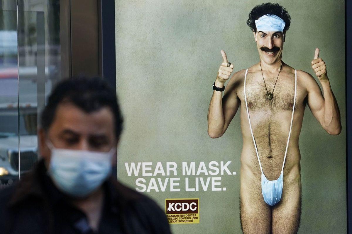 Sacha Baron Cohen genoplivede Borat-karakteren - angiveligt for sidste gang - til den film, der udkom sidste år under coronapandemien. (Arkivfoto)