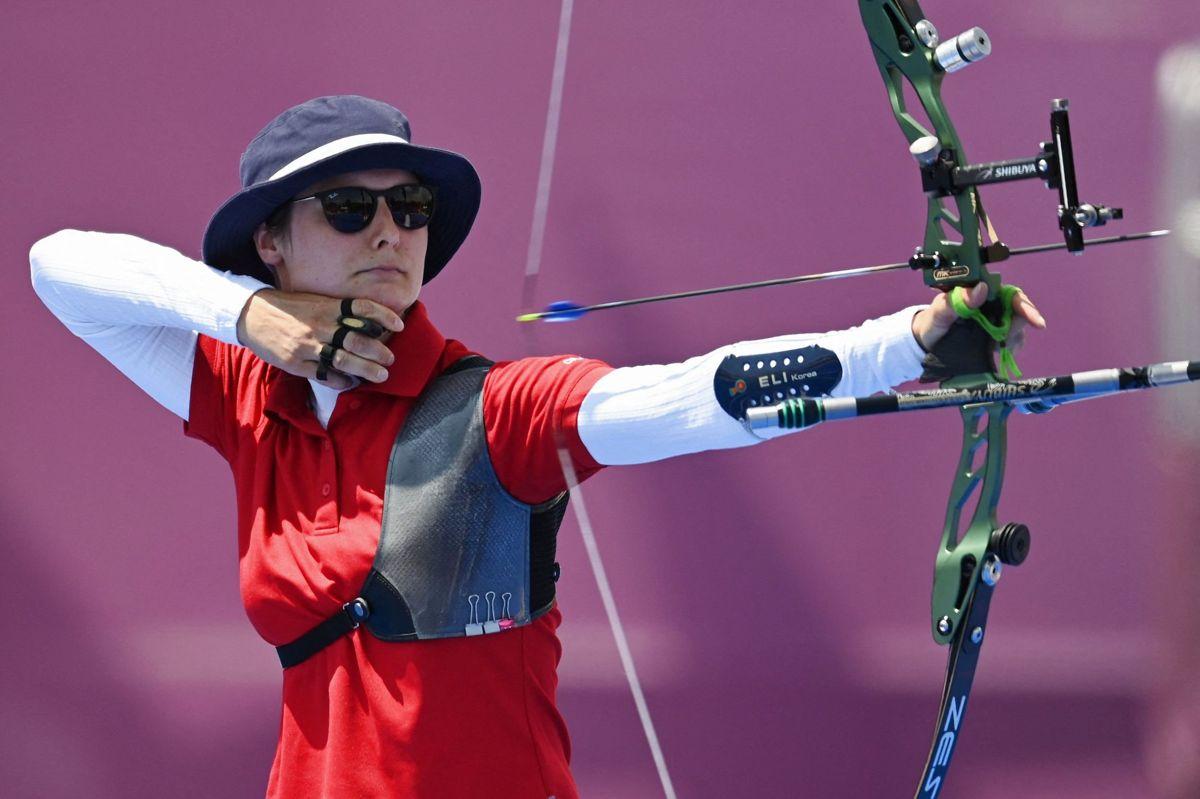 Maja Jager var med ved OL i Tokyo, hvor hun blev elimineret i 16.-delsfinalen.