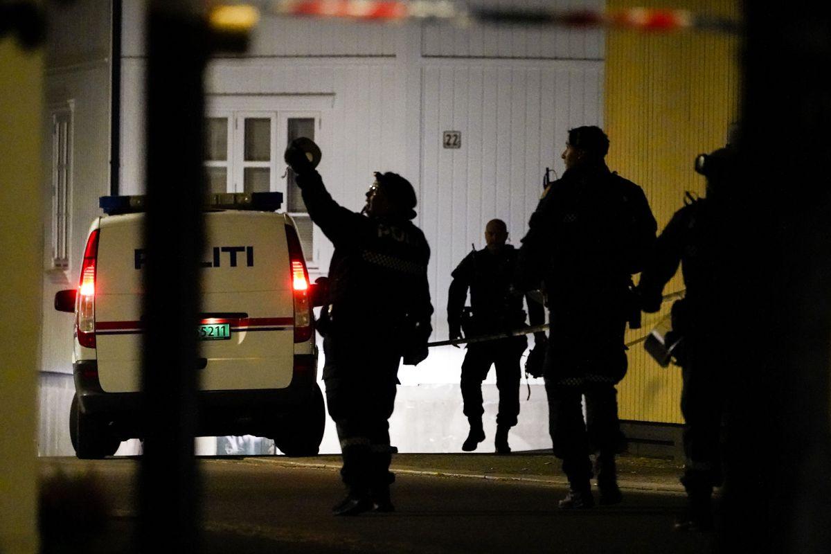 Det er endnu uklart, hvad der helt præcist er sket i den norske by.