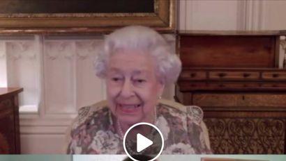 Dronningen i total griner.