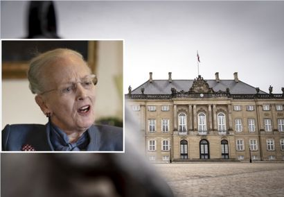 Der er opsat terrorsikring ved Amalienborg